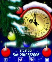 Neverending Christmas Style Analog for NiceClock