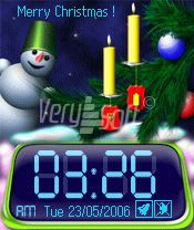 Neverending Christmas Style Digital for NiceClock