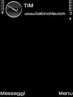 New Black Theme for Nokia N70/N90