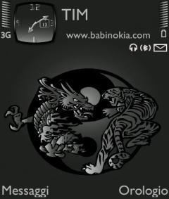 New Tiger and Dragon Theme