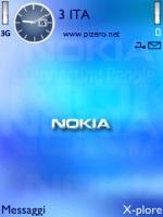 Nokia Blue Theme