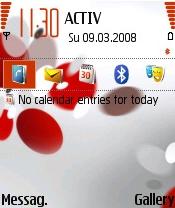 Nokia Red Impression Theme