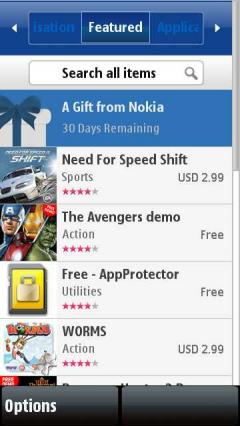 Nokia Store Client for S60