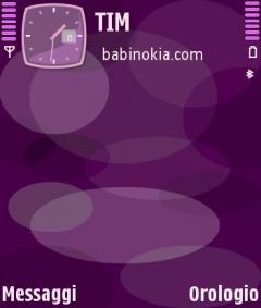 Nokia Violet Theme for Nokia N70/N90