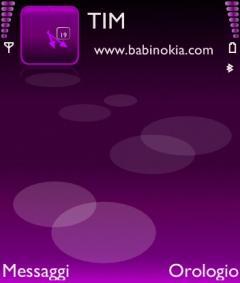 Nokia Violet Theme