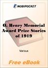 O. Henry Memorial Award Prize Stories of 1919 for MobiPocket Reader