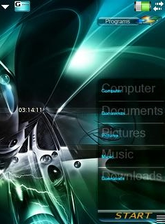 OCD X2 Theme for GDesk (UIQ)