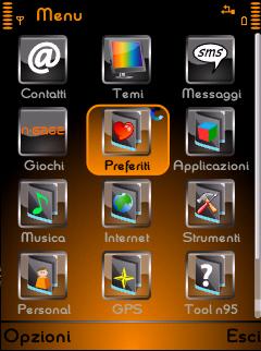 Orange&Black Theme