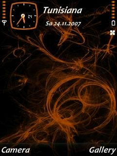 Orange Net Theme