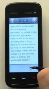 Origo IDE eBook Scandal in Bohemia for Nokia 5800