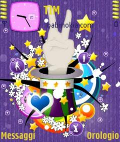 Peace and Love Theme for Nokia N70/N90