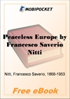 Peaceless Europe for MobiPocket Reader