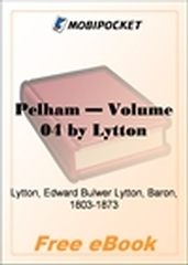 Pelham, Volume 4 for MobiPocket Reader
