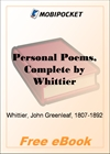 Personal Poems for MobiPocket Reader