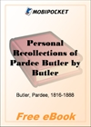 Personal Recollections of Pardee Butler for MobiPocket Reader