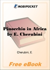 Pinocchio in Africa for MobiPocket Reader