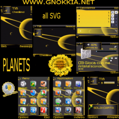 Planets SVG Theme