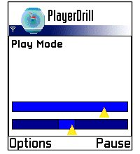 PlayerDrill for Symbian