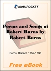 Poems and Songs of Robert Burns for MobiPocket Reader