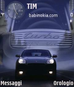 Porsche Cayenne Theme for Nokia N70/N90