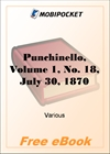 Punchinello, Volume 1, No. 18, July 30, 1870 for MobiPocket Reader