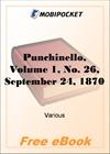 Punchinello, Volume 1, No. 26, September 24, 1870 for MobiPocket Reader