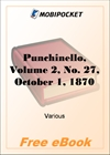 Punchinello, Volume 2, No. 27, October 1, 1870 for MobiPocket Reader