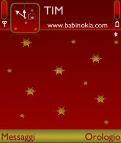Red Christmas Theme