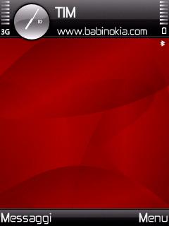 Red Spyro Theme for Nokia N70/N90