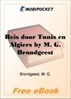 Reis door Tunis en Algiers for MobiPocket Reader
