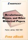 Revolutionary Heroes for MobiPocket Reader