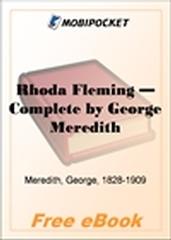 Rhoda Fleming - Complete for MobiPocket Reader