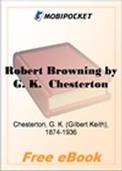 Robert Browning for MobiPocket Reader