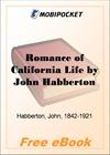 Romance of California Life for MobiPocket Reader