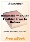 Rosamond - or, the Youthful Error for MobiPocket Reader