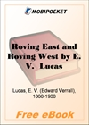 Roving East and Roving West for MobiPocket Reader