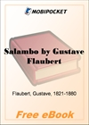 Salambo for MobiPocket Reader
