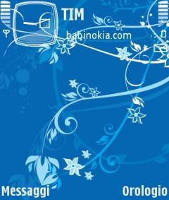 Sea Flower Theme for Nokia N70/N90