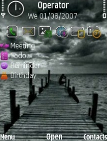 Sea Theme for Symbian S60 3rd Edition