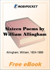 Sixteen Poems for MobiPocket Reader