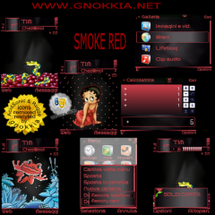 Smoke Red Theme