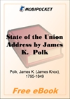 State of the Union Address by James K. Polk for MobiPocket Reader