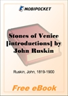 Stones of Venice for MobiPocket Reader