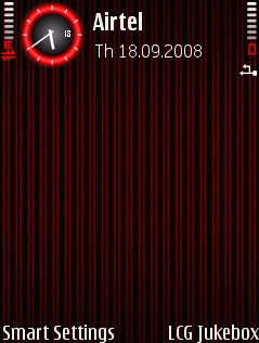 Strips Red Theme