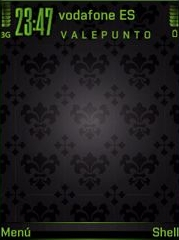Style Green Black SVG Theme