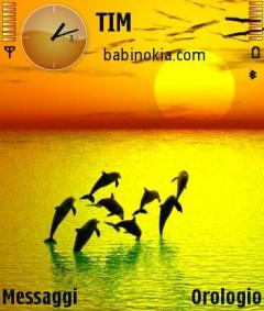 Sunset Theme for Nokia N70/N90