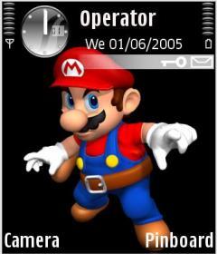 Super Mario Theme for Nokia N70/N90
