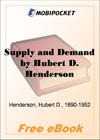 Supply and Demand for MobiPocket Reader