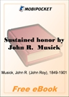 Sustained honor The Age of Liberty Established for MobiPocket Reader