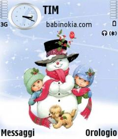 Sweet Snow Theme for Nokia N70/N90